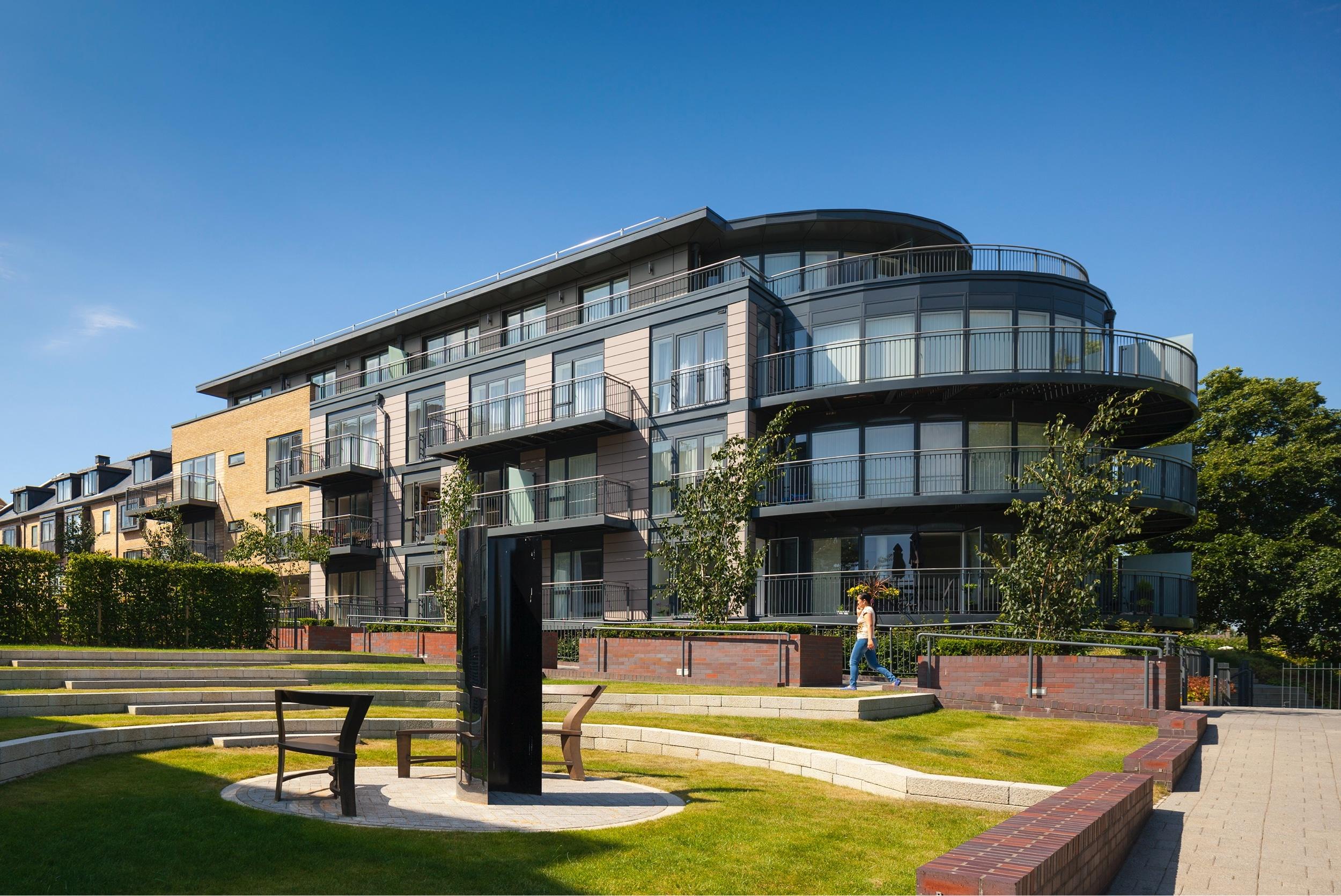 IDSystems installation for the Cambridge Riverside Berkley development
